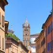 Stock Photo: Alleyway. Bologna. Emilia-Romagna. Italy.