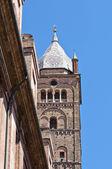 Katedrála svatého pietro. boloňa. emilia-romagna. itálie. — Stock fotografie