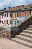 St.Peter's Bridge. Comacchio. Emilia-Romagna. Italy. — Foto Stock