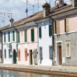 Stock Photo: View of Comacchio. Emilia-Romagna. Italy.