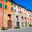 Alleyway. Brisighella. Emilia-Romagna. Italy. — Stock Photo