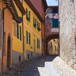 Alleyway. Dozza. Emilia-Romagna. Italy. — Stock Photo #10544485