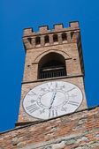 Clocktower. Brisighella. Emilia-Romagna. Italy. — Stock Photo