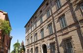 Lega Palace. Brisighella. Emilia-Romagna. Italy. — Stock Photo