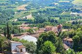 Panoramic view of Brisighella. Emilia-Romagna. Italy. — Stock Photo