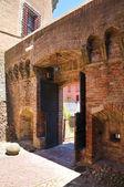 Castelo de sforza. dozza. emília-romanha. itália. — Fotografia Stock