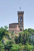 Clocktower. Brisighella. Emilia-Romagna. Italy. — Stock Photo