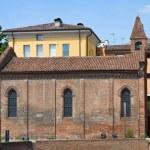 Постер, плакат: Church of St Giuliano Ferrara Emilia Romagna Italy