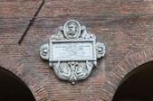 Via Coperta. Ferrara. Emilia-Romagna. Italy. — Stock Photo