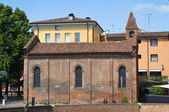 Church of St. Giuliano. Ferrara. Emilia-Romagna. Italy. — Stock Photo