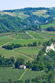 Panoramic view of Emilia-Romagna. Italy. — Stock Photo