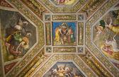 Interior Estense Castle. Ferrara. Emilia-Romagna. Italy. — Stock Photo