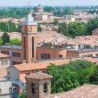 Panoramic view of Ferrara. Emilia-Romagna. Italy. — Foto de Stock