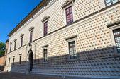 Diamond Palace. Ferrara. Emilia-Romagna. Italy. — Stock Photo