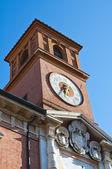 Ariostea Library. Ferrara. Emilia-Romagna. Italy. — Stock Photo