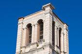 Belltower St. George's Basilica. Ferrara. Emilia-Romagna. Italy. — Stok fotoğraf
