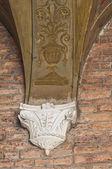 Magnanini-Roverella Palace. Ferrara. Emilia-Romagna. Italy. — Stock Photo
