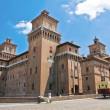 Stock Photo: Estense Castle. Ferrara. Emilia-Romagna. Italy.