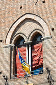 City Hall. Ferrara. Emilia-Romagna. Italy. — Stock Photo