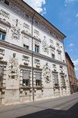 Bentivoglio Palace. Ferrara. Emilia-Romagna. Italy. — Stock Photo