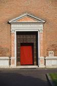 St. Francesco Church. Ferrara. Emilia-Romagna. Italy. — Stock Photo