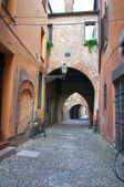 Street of the Vaults. Ferrara. Emilia-Romagna. Italy. — Stock Photo
