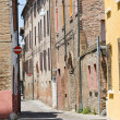 Alleyway. Ferrara. Emilia-Romagna. Italy. — Photo #10712077
