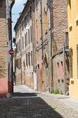 Alleyway. Ferrara. Emilia-Romagna. Italy. — Stock Photo