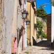 Stock Photo: Alleyway. Montebello. Emilia-Romagna. Italy.