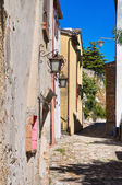 Alleyway. Montebello. Emilia-Romagna. Italy. — Stock Photo