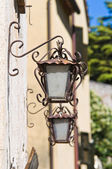 Characteristic wall lanterns. — Stock Photo