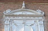 Schifanoia Palace. Ferrara. Emilia-Romagna. Italy. — Zdjęcie stockowe