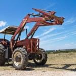 Farm tractor. — Stock Photo