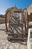 View of Matera. Basilicata. Italy. — Stock Photo