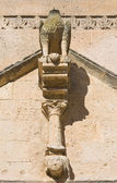 马泰拉大教堂的细节。巴西利卡塔。意大利. — 图库照片