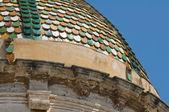 Mutterkirche. grottaglie. puglia. italien. — Stockfoto