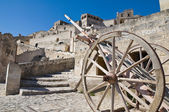 View of Matera. Basilicata. Italy. — Stock Photo