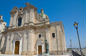Basilique-cathédrale. oria. puglia. italie. — Photo