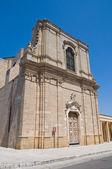 St. Francesco d'Assisi Church. Oria. Puglia. Italy. — Stock Photo