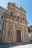 Iglesia de san giovanni battista. oria. puglia. italia. — Foto de Stock