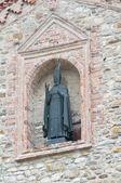 St. Colombano Abbey. Bobbio. Emilia-Romagna. Italy. — Stock Photo