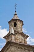 St. lorenzo kerk. bobbio. emilia-romagna. italië. — Stockfoto