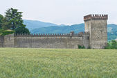 Castle of Riva. Ponte dell'Olio. Emilia-Romagna. Italy. — Stock Photo