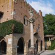 Institution Palace. Grazzano Visconti. Emilia-Romagna. Italy. — Stock Photo