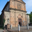 Stock Photo: SS Cosmand Damiano Church. Grazzano Visconti. Emilia-Romagna.
