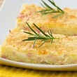 Potato gateau. - Stock Photo