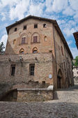 Ducal Palace. Castell'arquato. Emilia-Romagna. Italy. — Stock Photo
