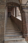 Podestà's Palace. Castell'Arquato. Emilia-Romagna. Italy. — Fotografia Stock