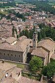 Castell'arquato 的全景视图。艾米利亚-罗马涅区。意大利. — 图库照片