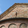 St.Giovanni church. Vigolo Marchese. Emilia-Romagna. Italy. — Foto de Stock
